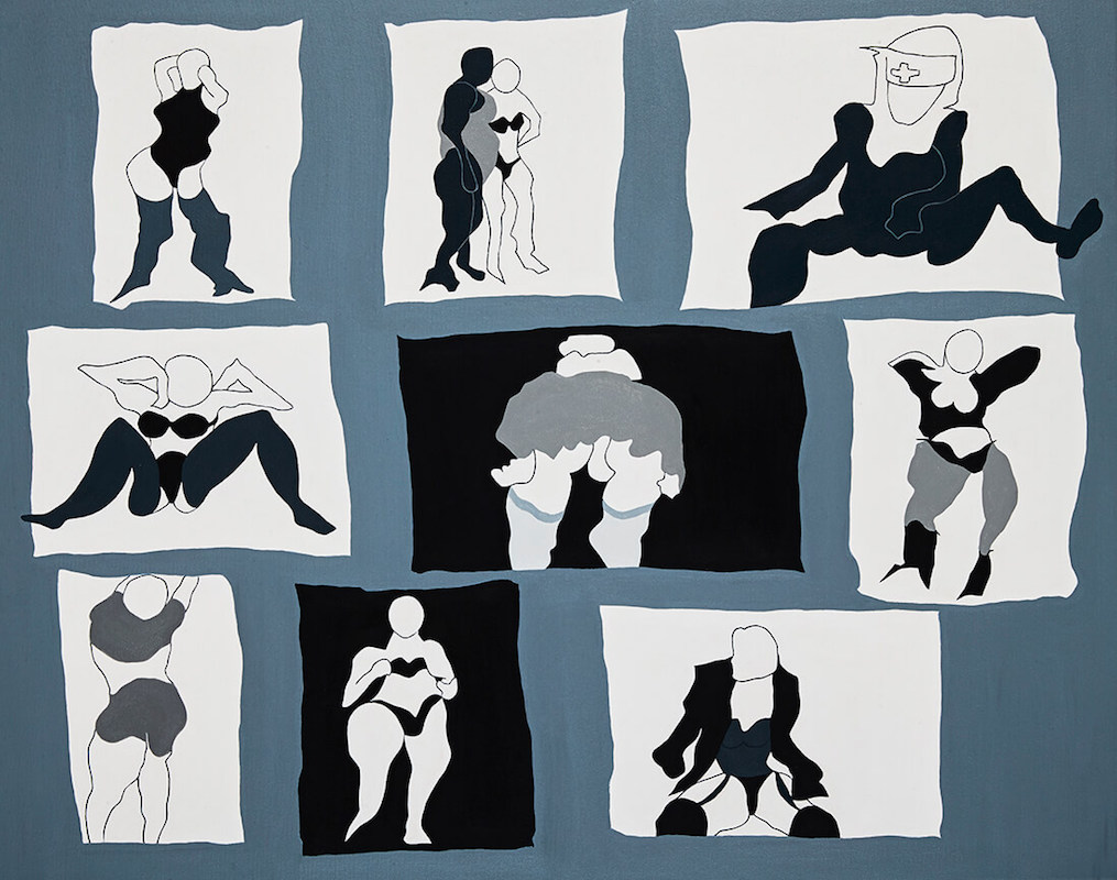 Selling their Wares - Amsterdam: Figurative Art on Canvas